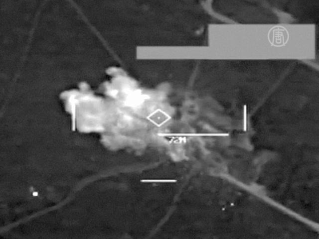 ВИДЕО: авиаудары по позициям «Исламского государства»