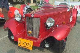 Винтажные авто покоряют сердца пакистанцев