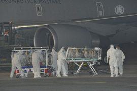Заразившегося Эболой итальянца доставили в Рим