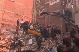 В Каире рухнул жилой дом, не менее 15 погибших