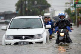 Ливень в Сан-Паулу вызвал катаклизмы на дорогах