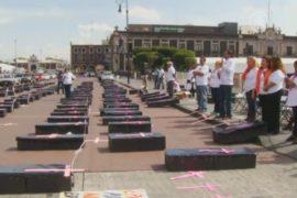 Активисты требуют защитить женщин в Мексике