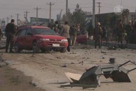Машину посольства Британии атаковали в Афганистане