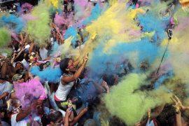 В Каракасе прошел «Красочный забег»