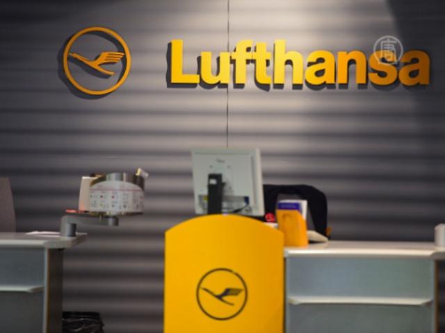 В Германии снова отменены тысячи авиарейсов