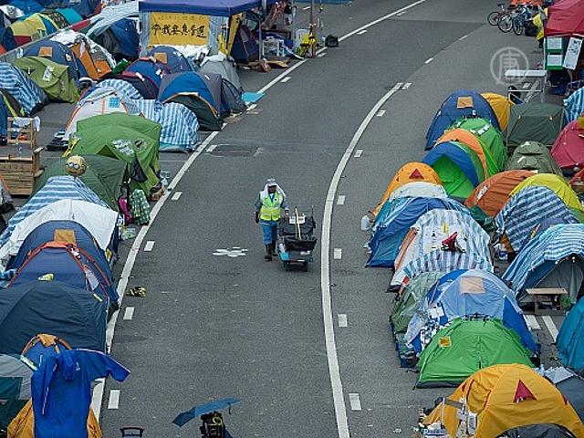 Гонконг: протестующие решили не расходиться