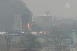 В Грозном продолжается спецоперация