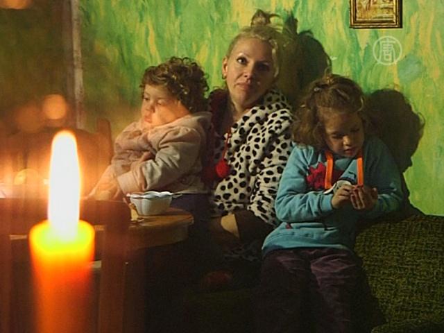 Сербский город остается без света, тепла и воды