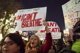 В США протестуют против решения суда присяжных
