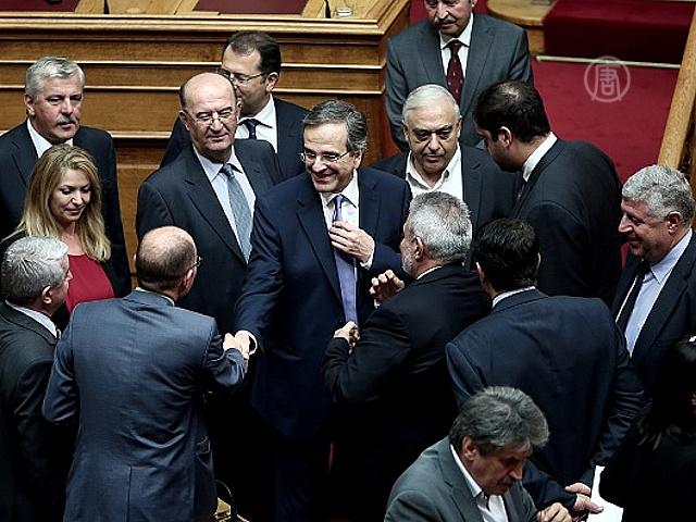 Греция приняла бюджет на 2015 год без согласования