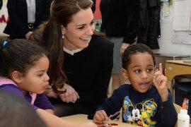 Герцогиня Кейт посетила опасный район Нью-Йорка