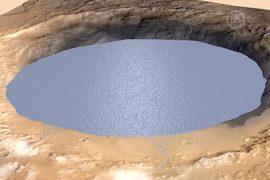Миллионы лет назад на Марсе существовали озёра