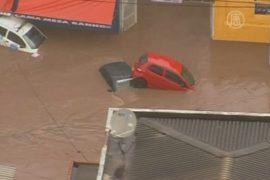 В Сан-Паулу – неожиданный потоп