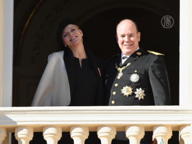 Счастливый князь Монако обратился к нации