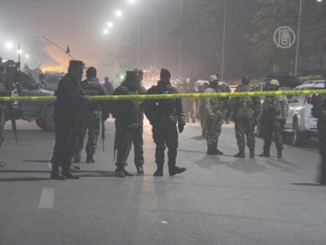 Смертник атаковал французский лицей в Кабуле