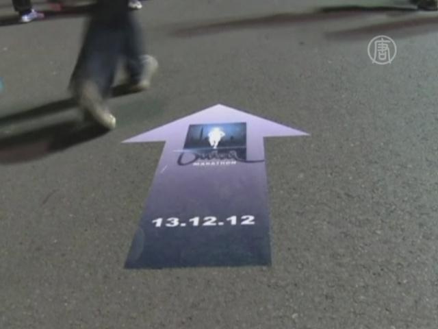 10 тысяч туристов пробежались по ночному Дубаю