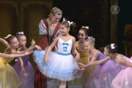Самая юная балерина выступила в Киеве