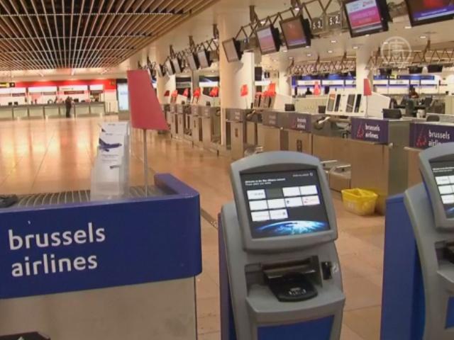 Общенациональная забастовка парализовала Бельгию