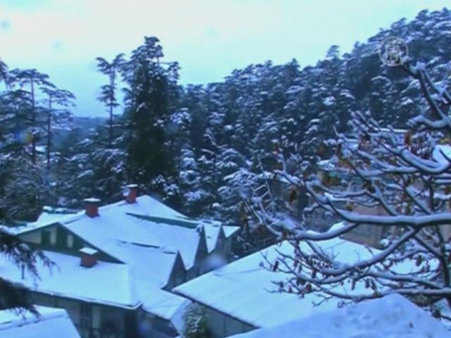 На севере Индии – внезапное похолодание