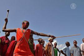Масаи перестали убивать львов и занялись спортом