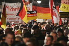 Марш против исламизации Запада прошёл в Дрездене