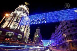 Мадрид манит туристов атмосферой Рождества