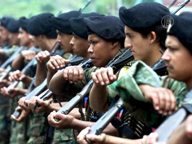 Колумбийские повстанцы объявили о прекращении огня