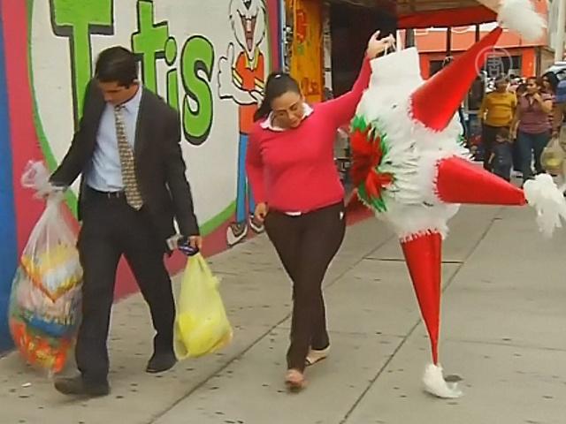 Пиньяты помогают мексиканцам избавиться от грехов