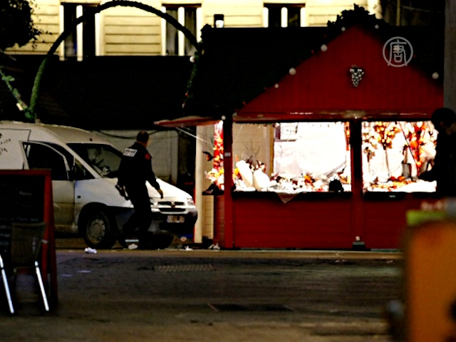 Мужчина въехал в базар с криком «Аллах Акбар»