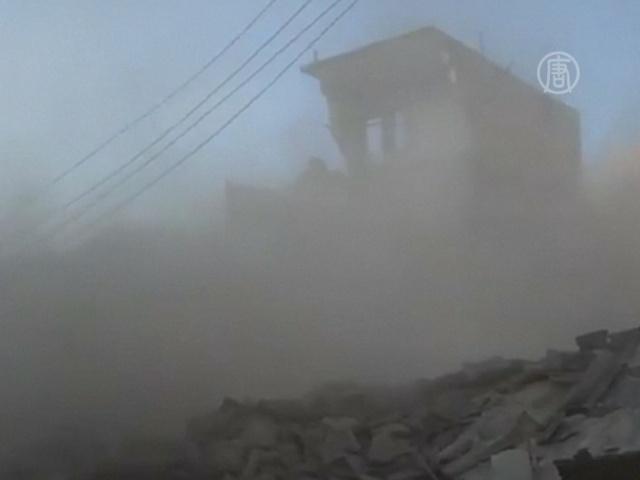 Сирийские войска атакуют Хомс, Идлиб и Алеппо
