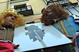 Испанцы протестуют против ущемления прав мигрантов