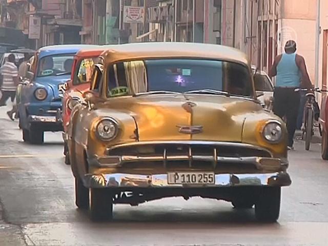 Владельцы раритетных авто на Кубе ждут туристов
