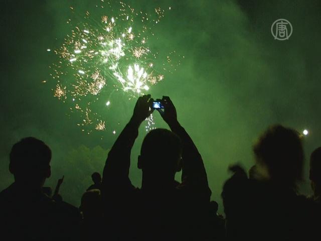 В Киеве отменили салюты и фейерверки на Новый год