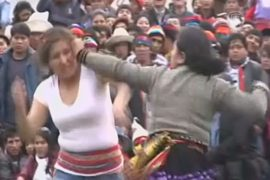 В Перу дерутся, чтобы очиститься