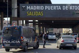 Мужчина угрожал взорвать себя на ж/д-вокзале Мадрида