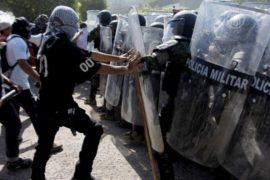 В Мексике протестующие направили гнев на военных