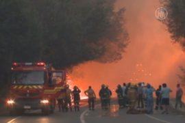 Пожары в Чили уничтожают жилые дома