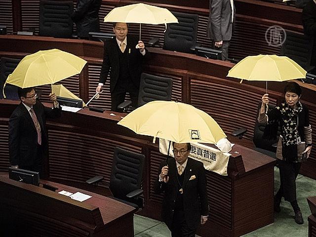 Гонконгцы снова потребовали демократии