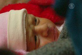 ЮНИСЕФ: сирийские дети гибнут от холода