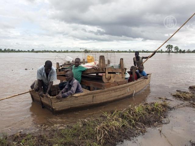 В Малави продолжается смертоносное наводнение