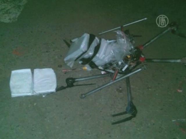Наркотики переправляют в США на дронах