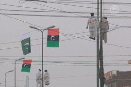 Публично вешать террористов призвали в Пакистане
