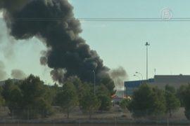 Истребитель разбился на учениях НАТО в Испании