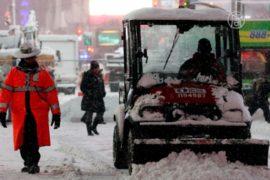 На восток США обрушился сильнейший снегопад