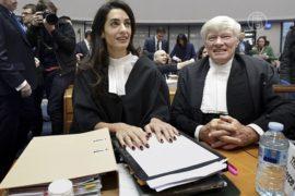 Амаль Клуни представила интересы Армении в ЕСПЧ