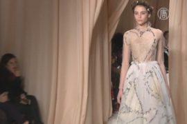 Коллекция от Valentino воспевает рыцарскую любовь