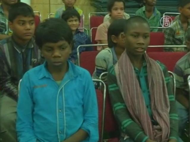 В Индии от рабского труда спасли 48 детей