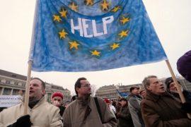 Венгры митингуют за уважение связей с Евросоюзом
