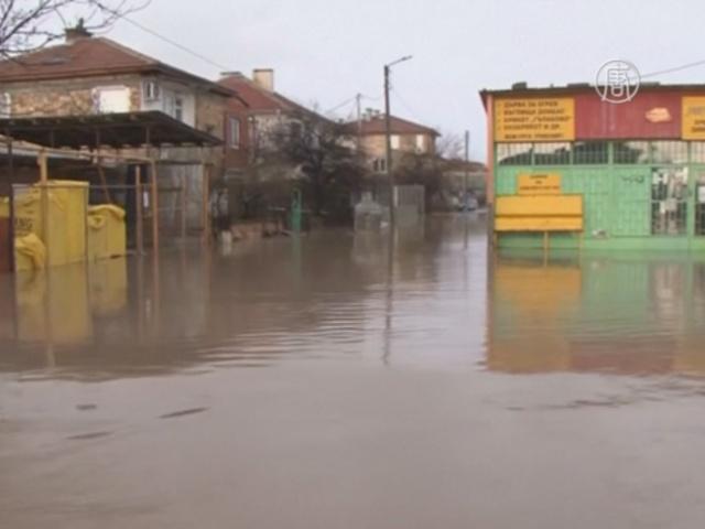В Болгарии начались наводнения