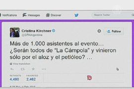 Президент Аргентины неудачно пошутила о китайцах